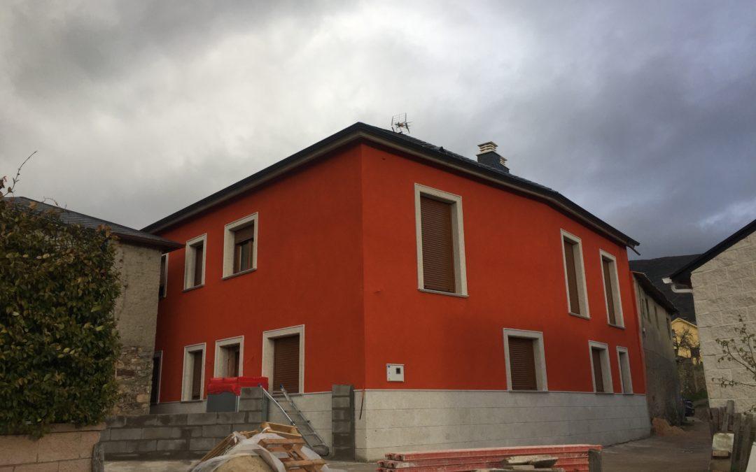 Aislamiento Fachada Casa Unifamiliar