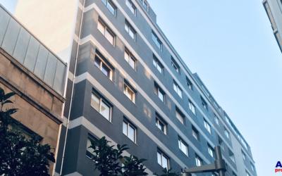 Aislamiento de edificio mediante SATE