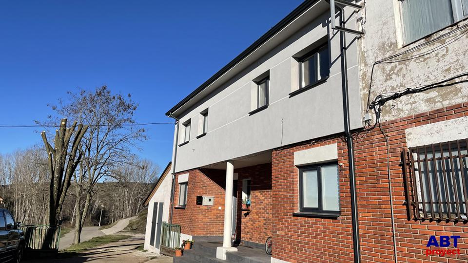 Rehabilitación de fachada mediante SATE