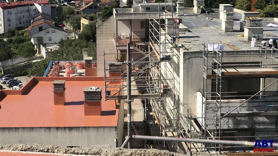 terraza impermeabilizada con poliuretano