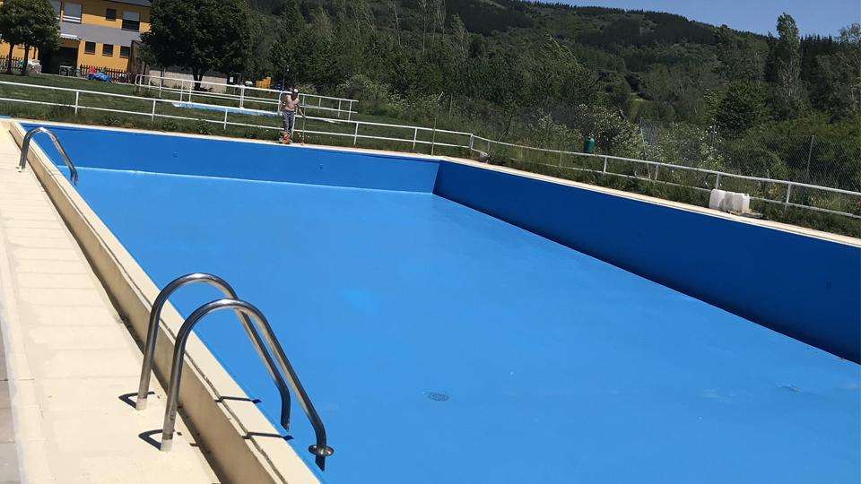 piscina impermeabilizada